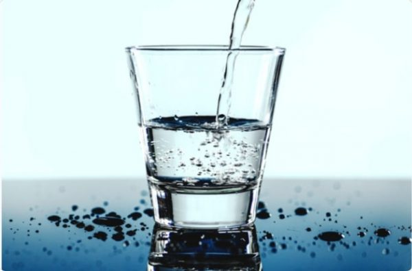 drink water to cure piles at home